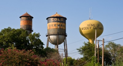 Water Towers in Okemah
