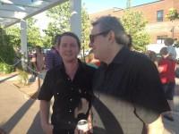 With Jimmy Webb, Tulsa, May 2014