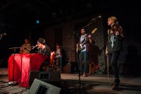 John Fullbright Band and Martie Maguire, Poor David's, Jan 2013