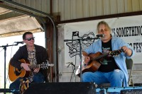 With Bill Lewis at the festival in Regency, April 2010