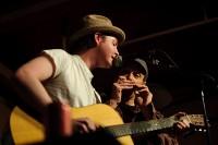 With Dan Bern at the Blue Door, Jan. 2011