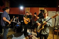 Music video shoot with Wes Sharon, Giovanni Carnuccio III, and Terry 'Buffalo' Ware, Feb. 2012