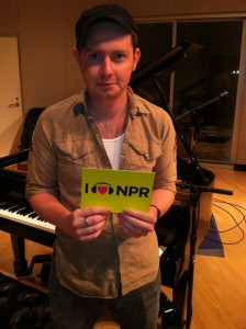 At WCPN, Aug. 2012