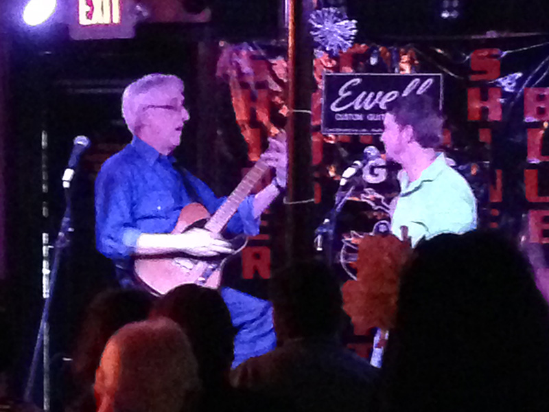 John Fullbright with Bill Kirchen at SXSW 2014